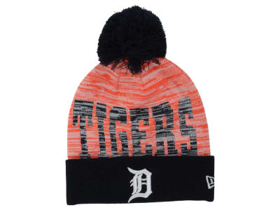 Detroit Tigers New Era MLB Word Fuzz Knit