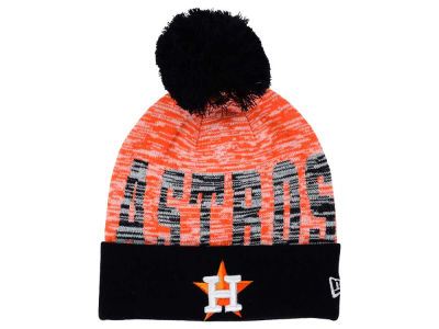 Houston Astros New Era MLB Word Fuzz Knit