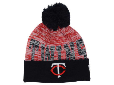Minnesota Twins New Era MLB Word Fuzz Knit