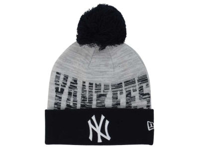New York Yankees New Era MLB Word Fuzz Knit