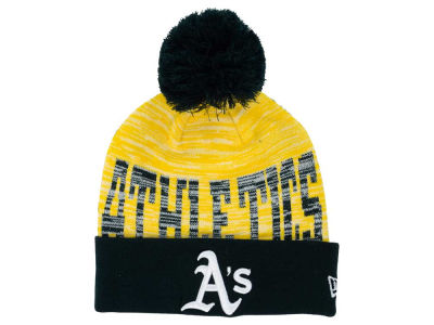 Oakland Athletics New Era MLB Word Fuzz Knit