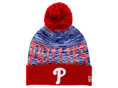 Philadelphia Phillies New Era MLB Word Fuzz Knit
