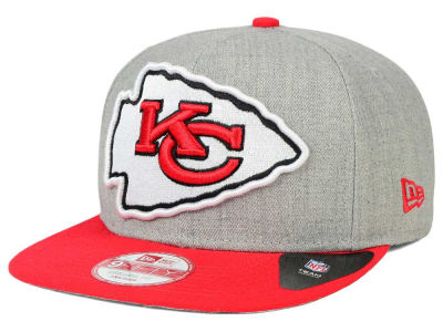 Kansas City Chiefs New Era NFL Logo Grand 9FIFTY Snapback Cap