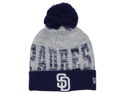 San Diego Padres New Era MLB Word Fuzz Knit