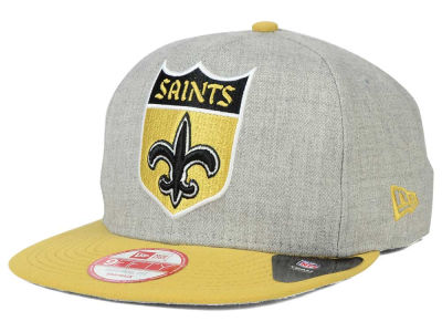 New Orleans Saints New Era NFL Logo Grand 9FIFTY Snapback Cap
