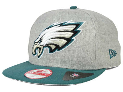 Philadelphia Eagles New Era NFL Logo Grand 9FIFTY Snapback Cap