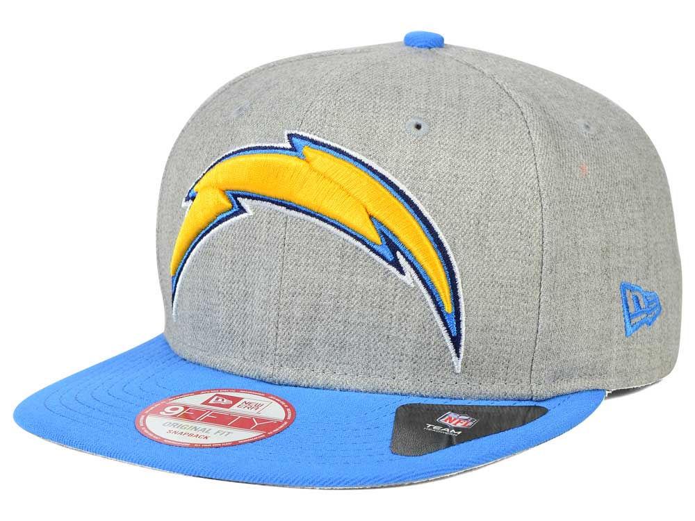 San Diego Chargers New Era NFL Logo Grand 9FIFTY Snapback Cap  bbce9d8a8b0