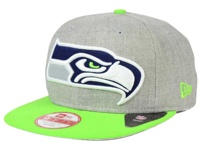 Seattle Seahawks New Era NFL Logo Grand 9FIFTY Snapback Cap