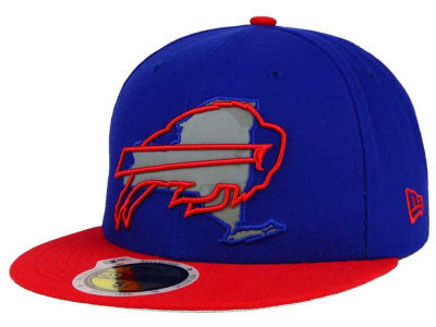 Buffalo Bills New Era NFL State Flective Redux 59FIFTY Cap