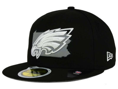 Philadelphia Eagles New Era NFL State Flective Redux 59FIFTY Cap