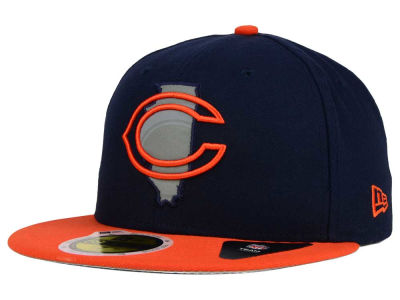 Chicago Bears New Era NFL State Flective Redux 59FIFTY Cap