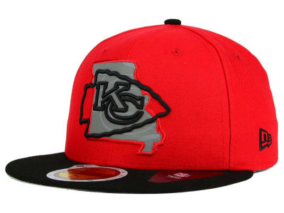 Kansas City Chiefs New Era NFL State Flective Redux 59FIFTY Cap