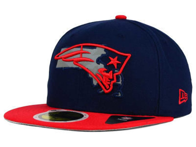 New England Patriots New Era NFL State Flective Redux 59FIFTY Cap