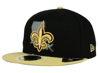 New Orleans Saints New Era NFL State Flective Redux 59FIFTY Cap