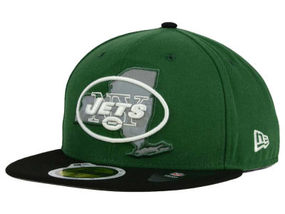New York Jets New Era NFL State Flective Redux 59FIFTY Cap