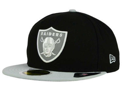 Oakland Raiders New Era NFL State Flective Redux 59FIFTY Cap