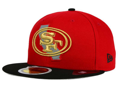 San Francisco 49ers New Era NFL State Flective Redux 59FIFTY Cap