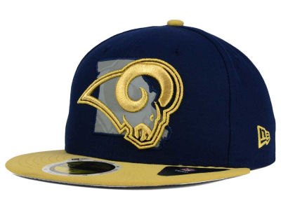 St. Louis Rams New Era NFL State Flective Redux 59FIFTY Cap