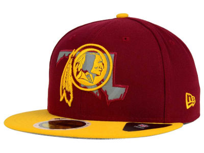 Washington Redskins New Era NFL State Flective Redux 59FIFTY Cap