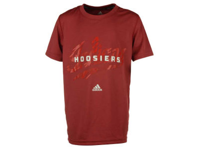 Indiana Hoosiers NCAA Youth Sideline Stitch Climalite T-Shirt