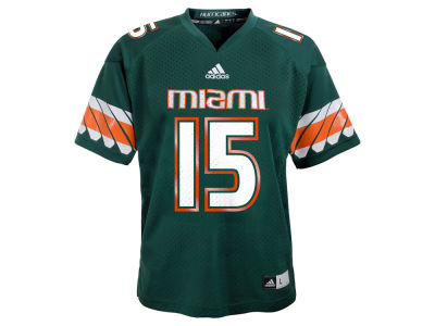 Miami Hurricanes #15 adidas NCAA Toddler Replica Football Jersey