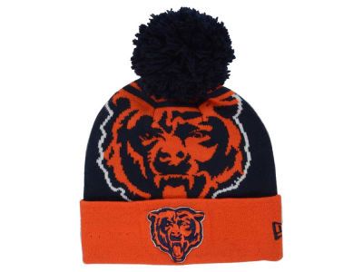 Chicago Bears New Era NFL Logo Whiz Pom Knit