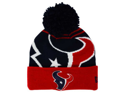 Houston Texans New Era NFL Logo Whiz Pom Knit