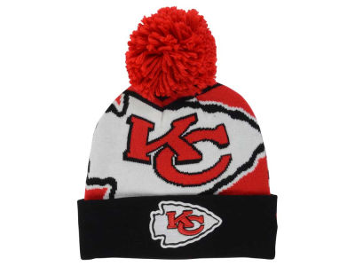 Kansas City Chiefs New Era NFL Logo Whiz Pom Knit