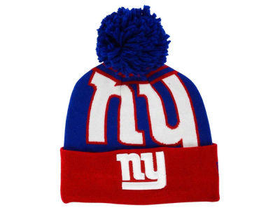 New York Giants New Era NFL Logo Whiz Pom Knit