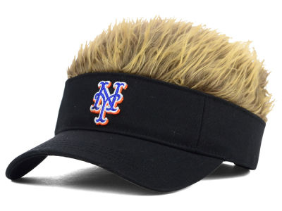 New York Mets Flair Hair Visor