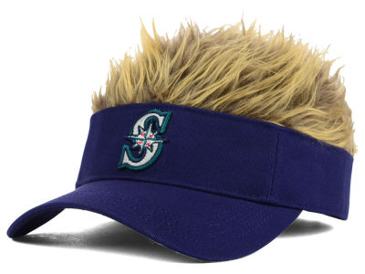 Seattle Mariners Flair Hair Visor