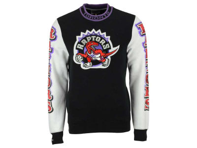 Toronto Raptors Mitchell and Ness NBA Men's Excessive Celebration Crew Sweatshirt
