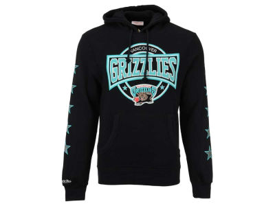 Vancouver Grizzlies Mitchell and Ness NBA Men's Down To The Wire Hoodie