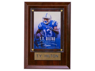 Indianapolis Colts T.Y. Hilton 4x6 Carded Plaque
