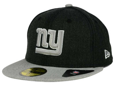 New York Giants New Era NFL Heather Action 2 Tone 59FIFTY Cap