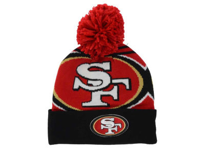 San Francisco 49ers New Era NFL Logo Whiz Pom Knit