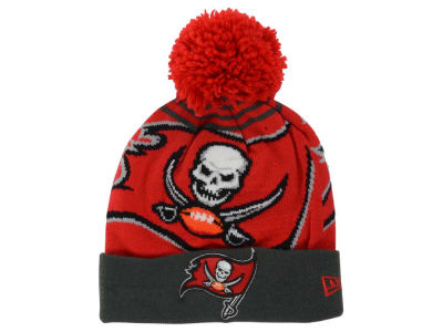 Tampa Bay Buccaneers New Era NFL Logo Whiz Pom Knit