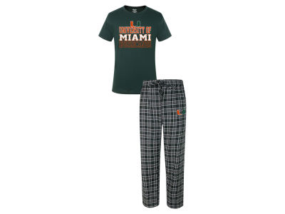 Miami Hurricanes NCAA Men's Medalist Sleep Outfit