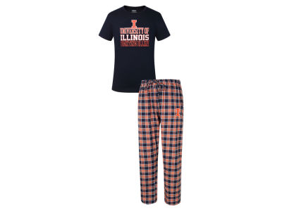 Illinois Fighting Illini NCAA Men's Medalist Sleep Outfit