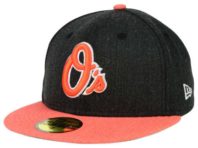Baltimore Orioles New Era MLB Heather Action 59FIFTY Cap