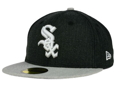 Chicago White Sox New Era MLB Heather Action 59FIFTY Cap