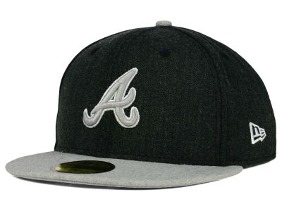Atlanta Braves New Era MLB Heather Action 59FIFTY Cap