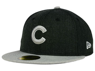 Chicago Cubs New Era MLB Heather Action 59FIFTY Cap