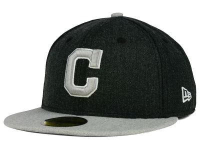 Cleveland Indians New Era MLB Heather Action 59FIFTY Cap