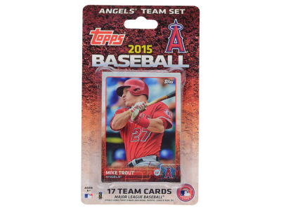 Los Angeles Angels Team Card Set 2015