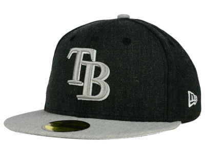 Tampa Bay Rays New Era MLB Heather Action 59FIFTY Cap