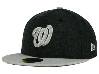 Washington Nationals New Era MLB Heather Action 59FIFTY Cap