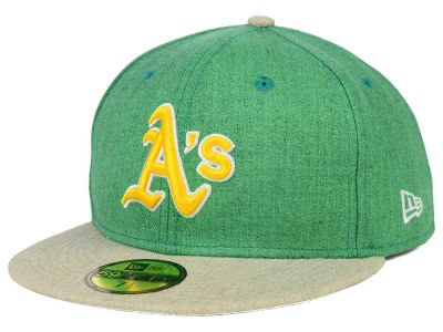 Oakland Athletics New Era MLB Heather Action 59FIFTY Cap