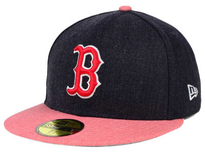 Boston Red Sox New Era MLB Heather Action 59FIFTY Cap