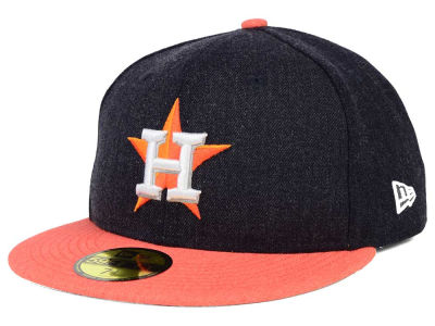 Houston Astros New Era MLB Heather Action 59FIFTY Cap